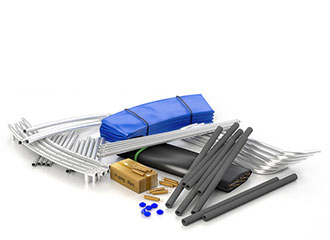 ersatzteile und zubeh r f r gartentrampoline. Black Bedroom Furniture Sets. Home Design Ideas