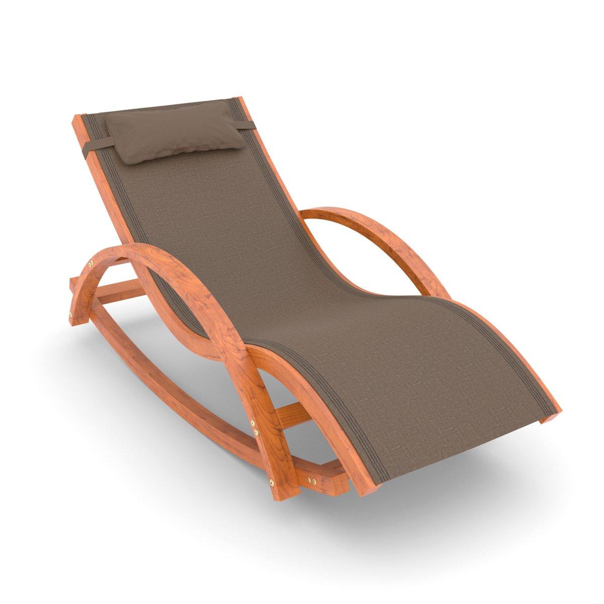 schaukel und liegestuhl rio 180x75 cm mit kopfkissen. Black Bedroom Furniture Sets. Home Design Ideas