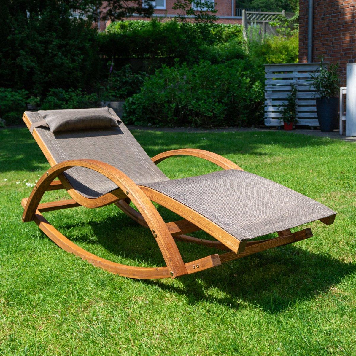 Schaukel und liegestuhl rio 180x75 cm mit kopfkissen - Schaukel liegestuhl ...