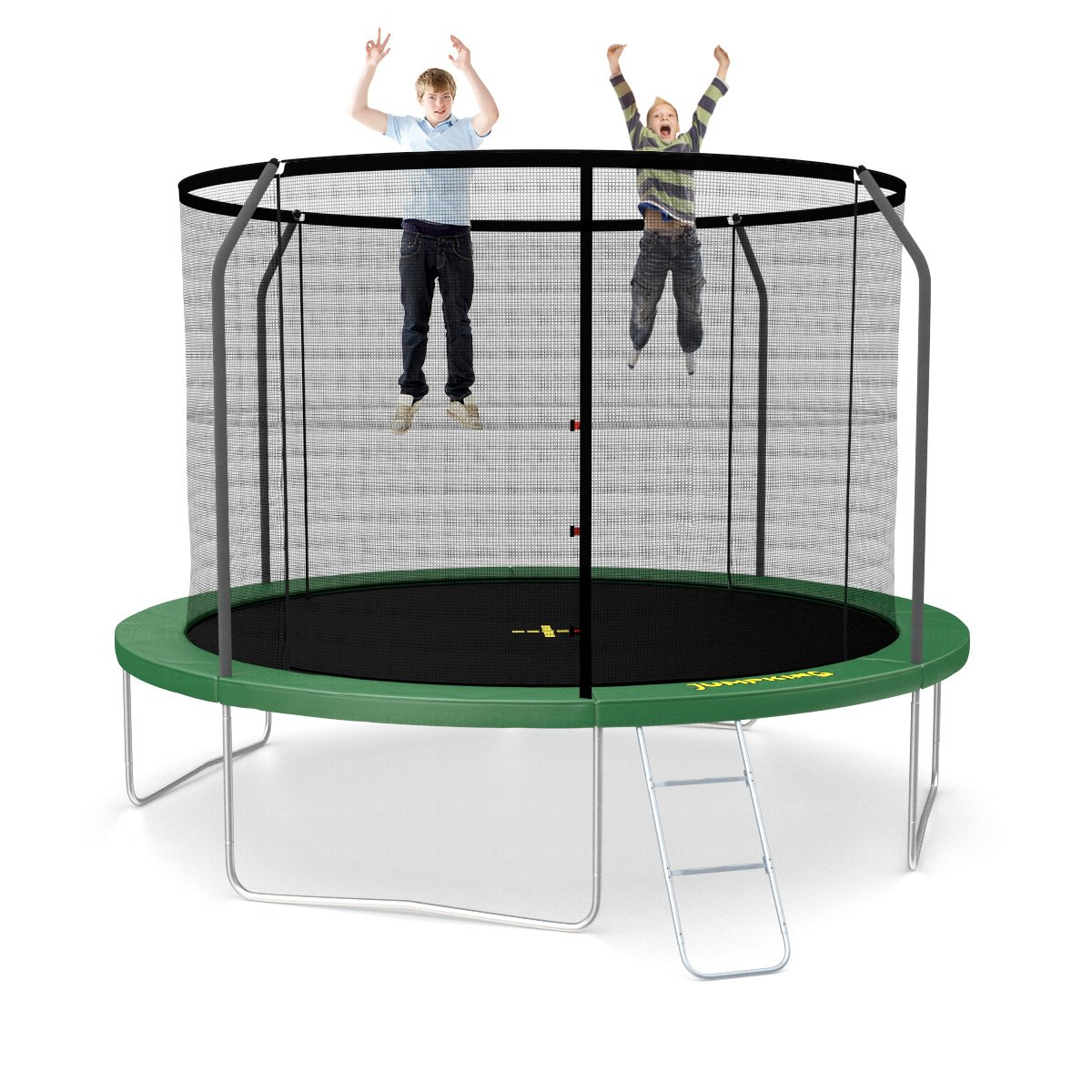 jumpking classic trampolin 366 cm mit netz und leiter. Black Bedroom Furniture Sets. Home Design Ideas