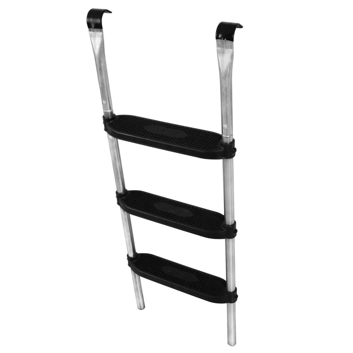 trampolin leiter 3 breite stufen. Black Bedroom Furniture Sets. Home Design Ideas