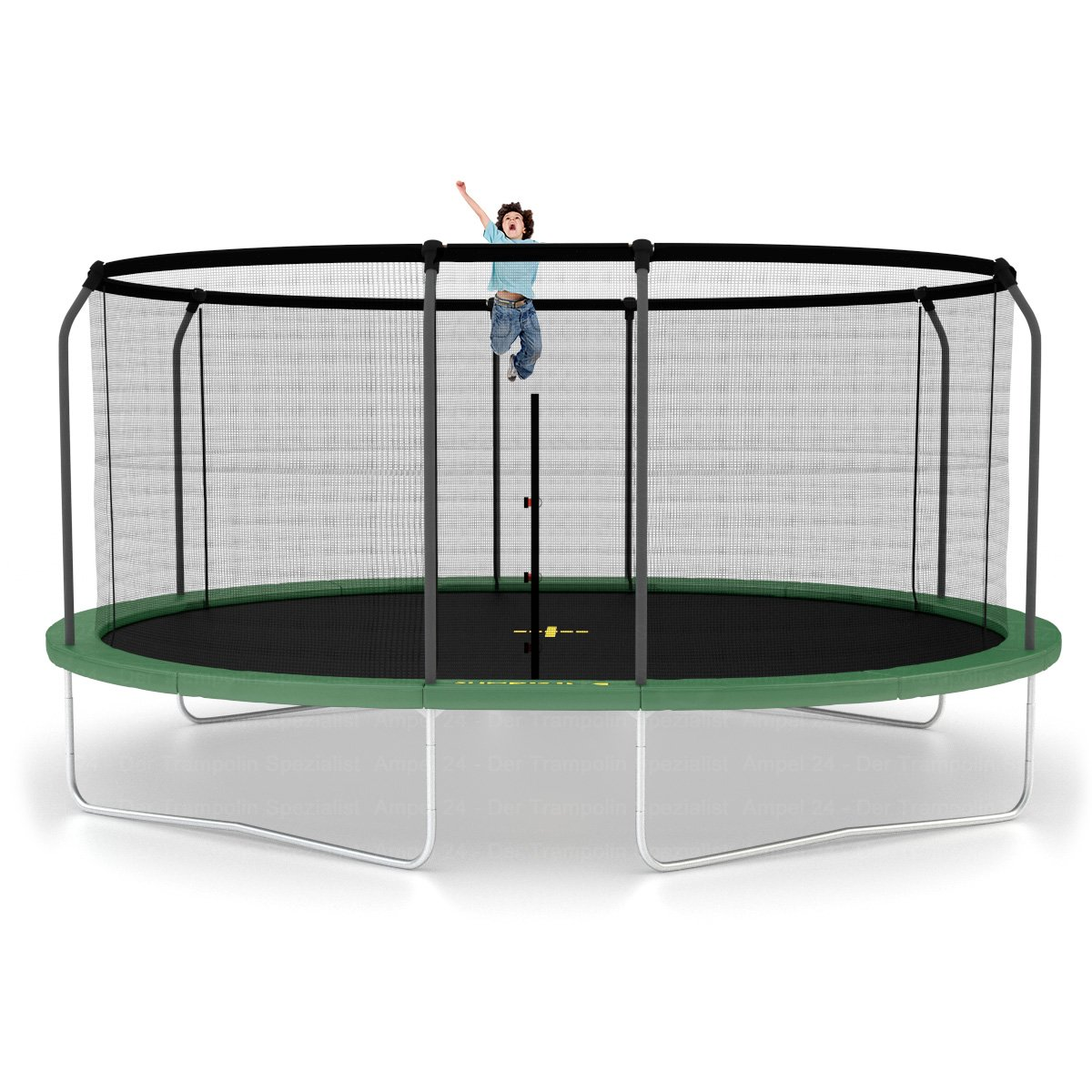 jumpking oval trampolin 520 cm mit netz und leiter. Black Bedroom Furniture Sets. Home Design Ideas