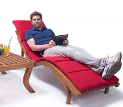 sonnenliege cannes mit auflage. Black Bedroom Furniture Sets. Home Design Ideas