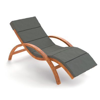 relax und gartenliege tropica braun mit auflage. Black Bedroom Furniture Sets. Home Design Ideas