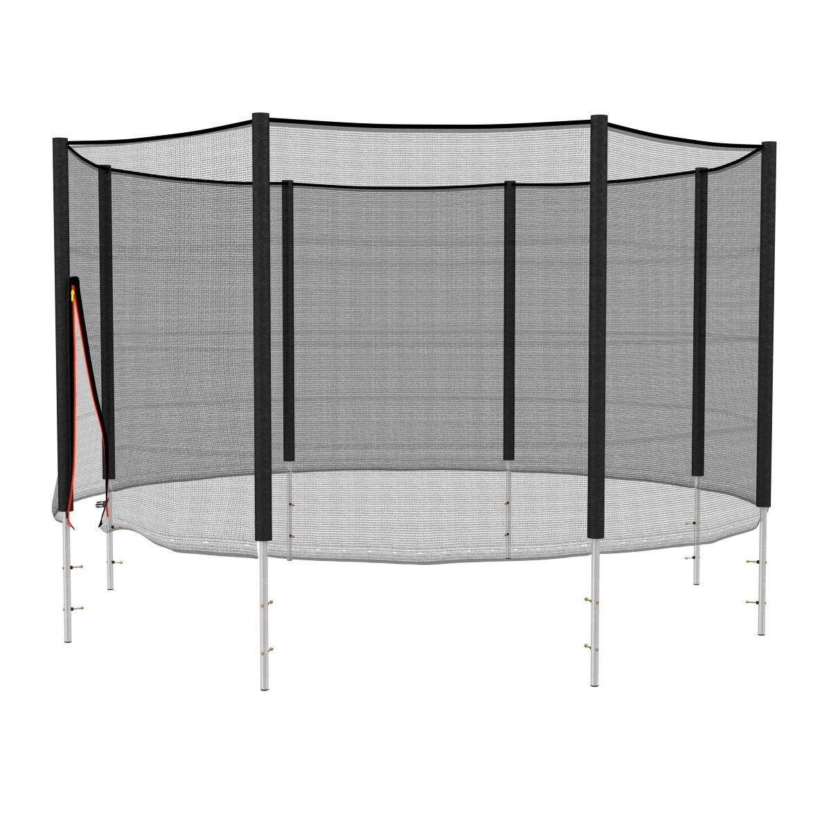 sicherheitsnetz 305 cm 8 stangen. Black Bedroom Furniture Sets. Home Design Ideas