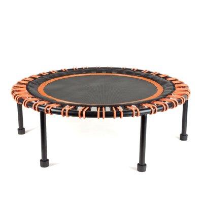 mini fitness trampoline mit gummispannern. Black Bedroom Furniture Sets. Home Design Ideas