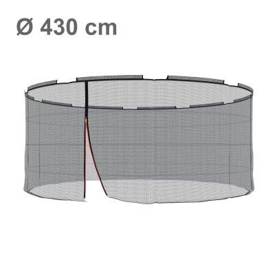 Klassik Ersatznetz 430 cm, für 10 Stangen, ohne Pfosten (Netz außen)