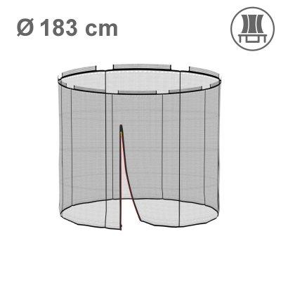 Deluxe Ersatznetz 183 cm für 6 Stangen, ohne Pfosten (Netz innen)
