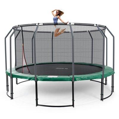 trampoline mit 490 cm. Black Bedroom Furniture Sets. Home Design Ideas