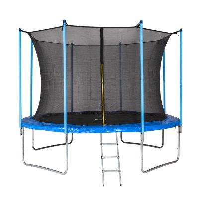 Motionxperts Trampolin mit Netz und Leiter