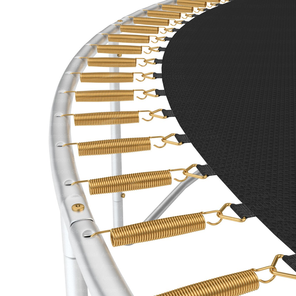 original ampel 24 trampolin 430 cm mit netz neuste version 2013 ebay. Black Bedroom Furniture Sets. Home Design Ideas