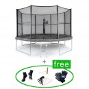 Akrobat Trampolin Orbit 366 cm All In One (rund, grau, bis 130 kg) Hauptbild