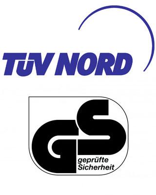 TÜV und GS Siegel